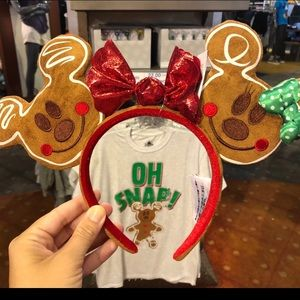 Gingerbread Mickey ears
